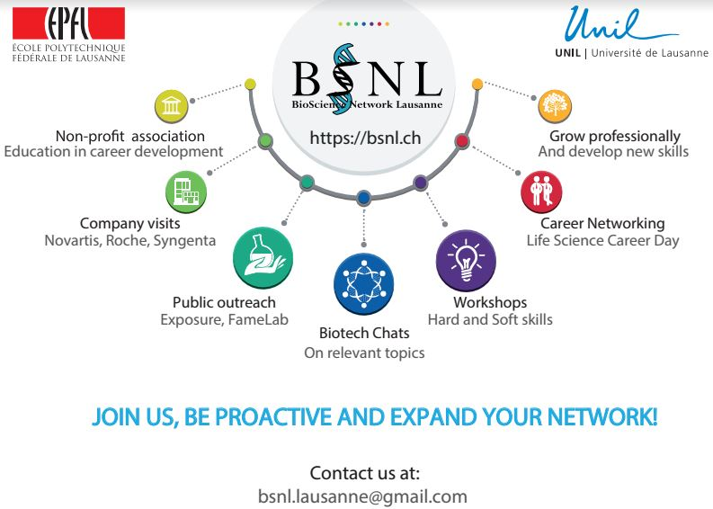 BSNL is Recruiting! June 6th 2017 at 12:00, EPFL room SV2615